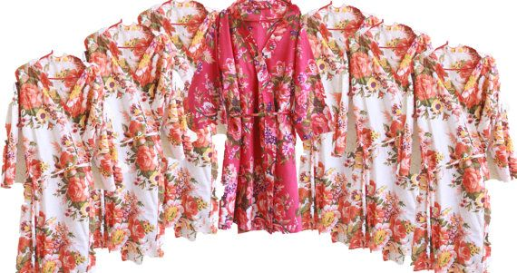 Check out this item in my Etsy shop https://www.etsy.com/listing/234375194/set-of-7-floral-posy-patterned-robe