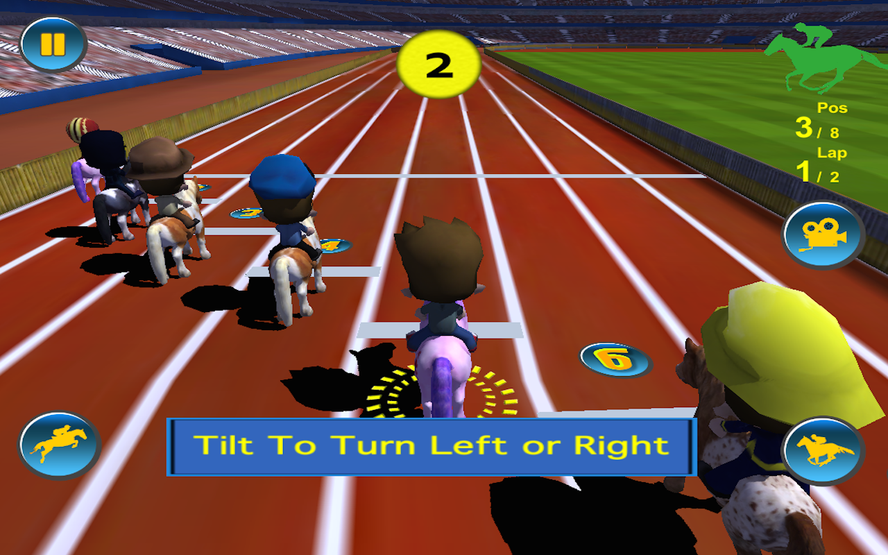 Horse Racing 3D (Kids Edition) Racing, Horse, Edition