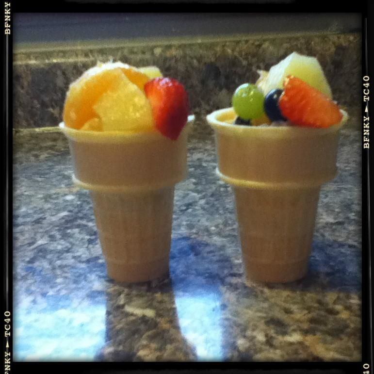 Preschool Snacks For Your Kids! A Fun Ice-cream Treat