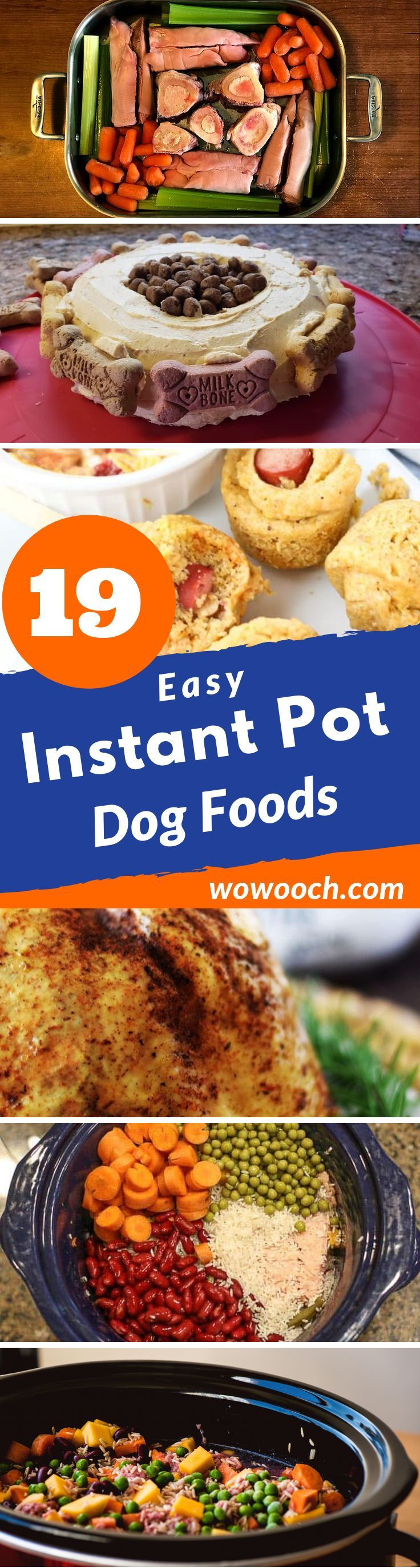 instant pot dog food with chicken