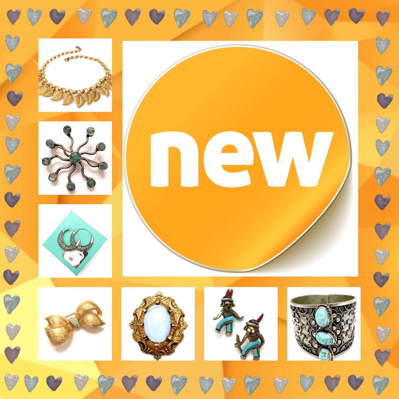 Recent Listings www.vintageimagine.etsy.com #vintagejewelry #vintagejewellry #etsyshop #giftsforher #vintagegifts #fashion #etsygifts #designersigned #vintagefinds #etsyvintage #PlsFollowthx #plsRePinthx #teamlove #vogueteam