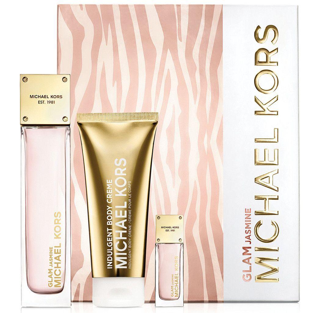 Michael Kors Glam Jasmine 3.4 oz Gift Set for woman | Michael kors ...
