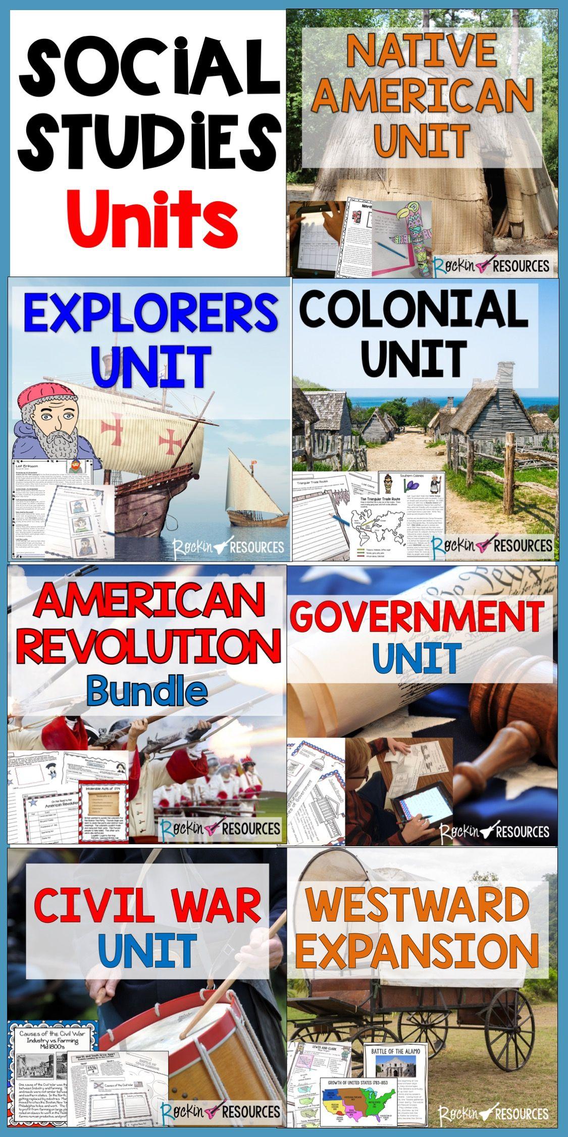 American History U S History Mega Bundle With