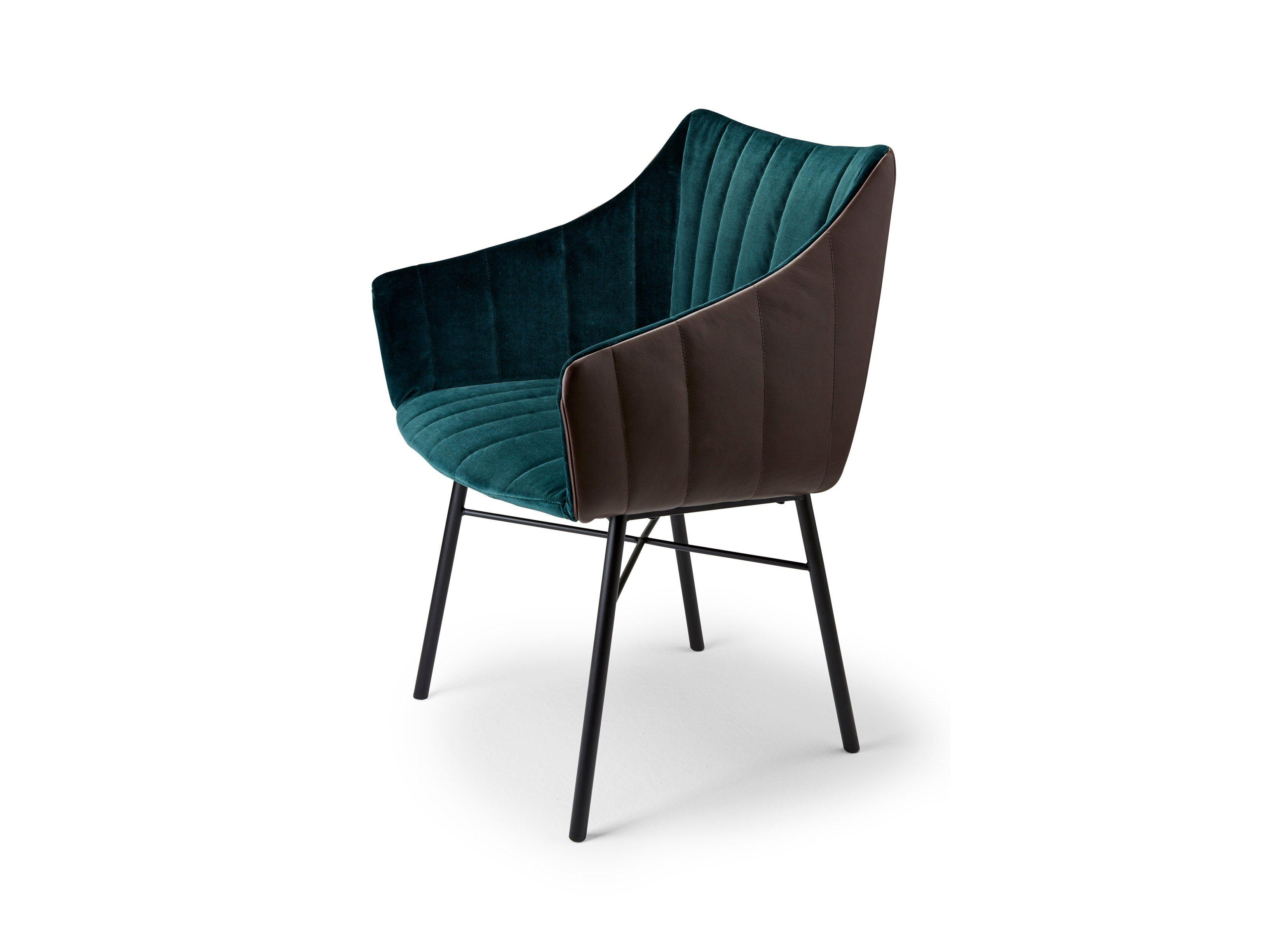 RUBIE Chair with armrests by FREIFRAU design Murken Hansen