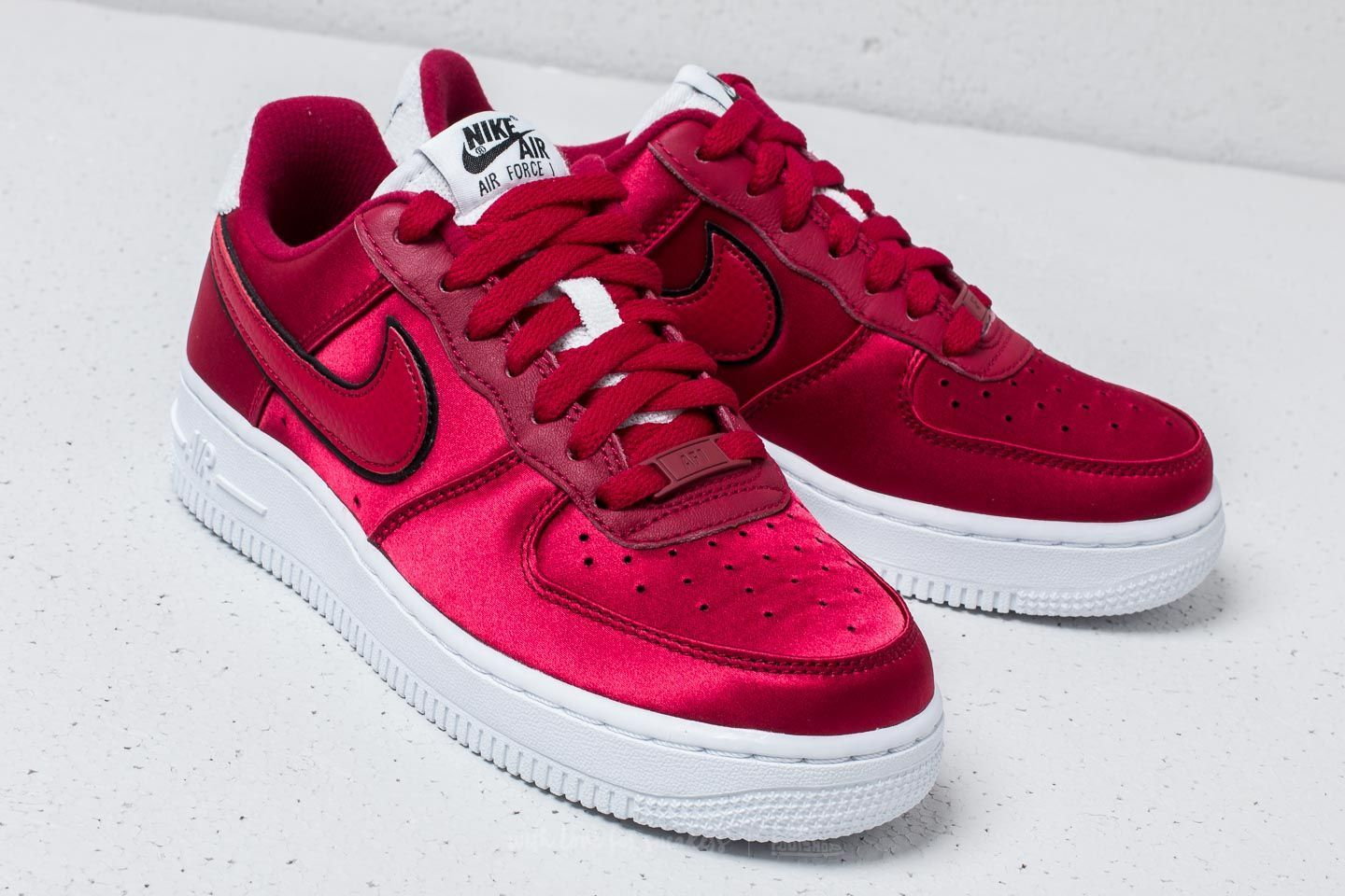 cheap for discount 38f41 b38da NIKE AIR FORCE 1 07 RED CRUSH WHITE BLACK AA0287 602