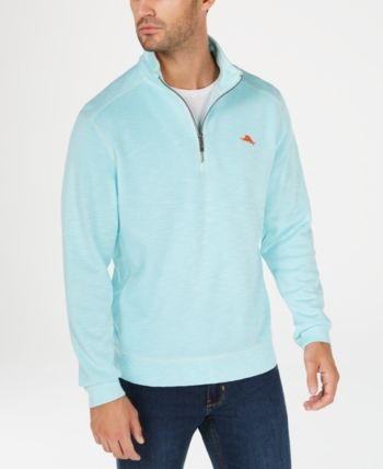 Tommy Bahama Men s Tobago Bay Half Zip Sweatshirt - Blue XXXL 09c763e73