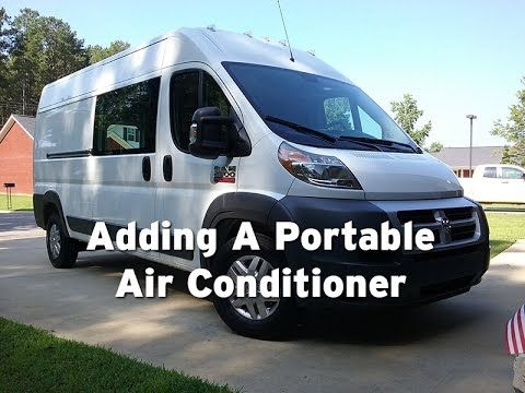 Ram Promaster Rv Camper Van Conversion Portable Air Conditioner Ram Promaster Van Cargo Van Conversion