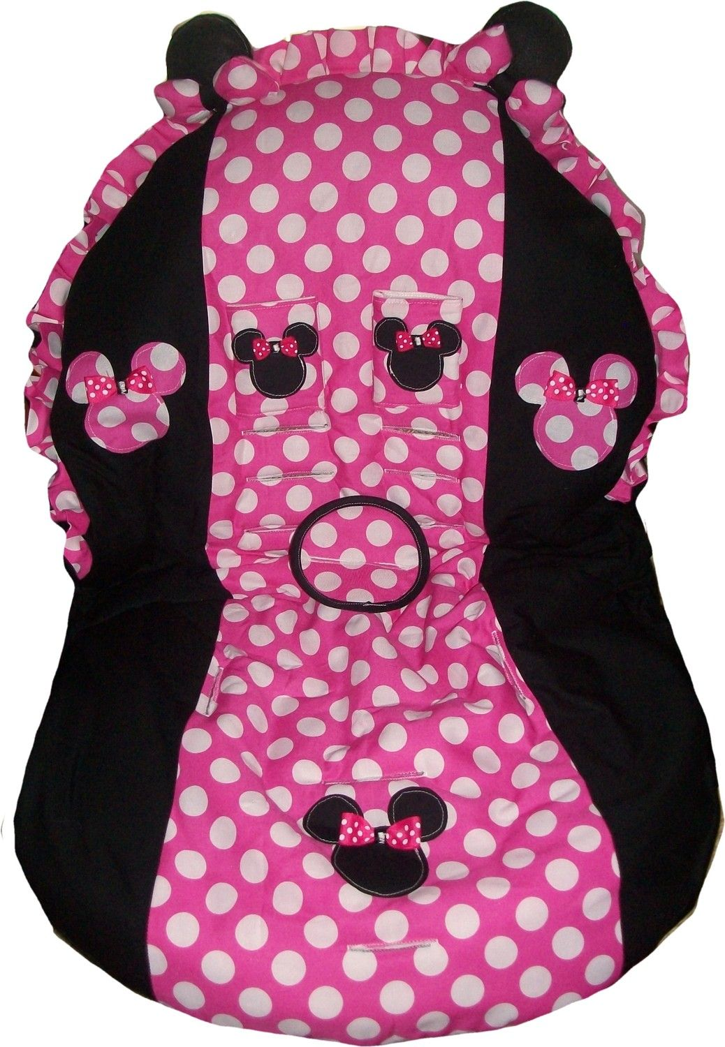 Minnie Mouse Toddler Cover Britax Graco Cosco And More 8500 Via Etsy