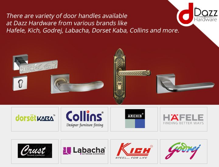 There are variety of #door #handles available at Dazz Hardware from various brans like & There are variety of #door #handles available at Dazz Hardware from ...