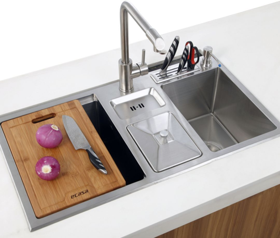10 Gorgeous Kitchen Sink Designs That You Can Apply At Your Home Sink Design Kitchen Sink Design Gorgeous Kitchens