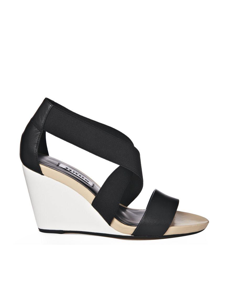 Black sandals ultima online - Shop Dune Glance Black Mid Wedge Strappy Sandals At Asos Discover Fashion Online