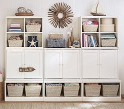 Kids Wall Storage Solutions Cubby Pottery Barn Have