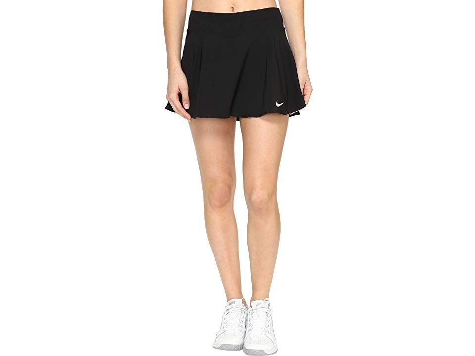 Nike Nike Court Flex Pure Tennis Skirt Black White Women S Skort Step Onto The Court And Match Up Against The Best With U Tennis Skirt Tennis Skirts Clothes