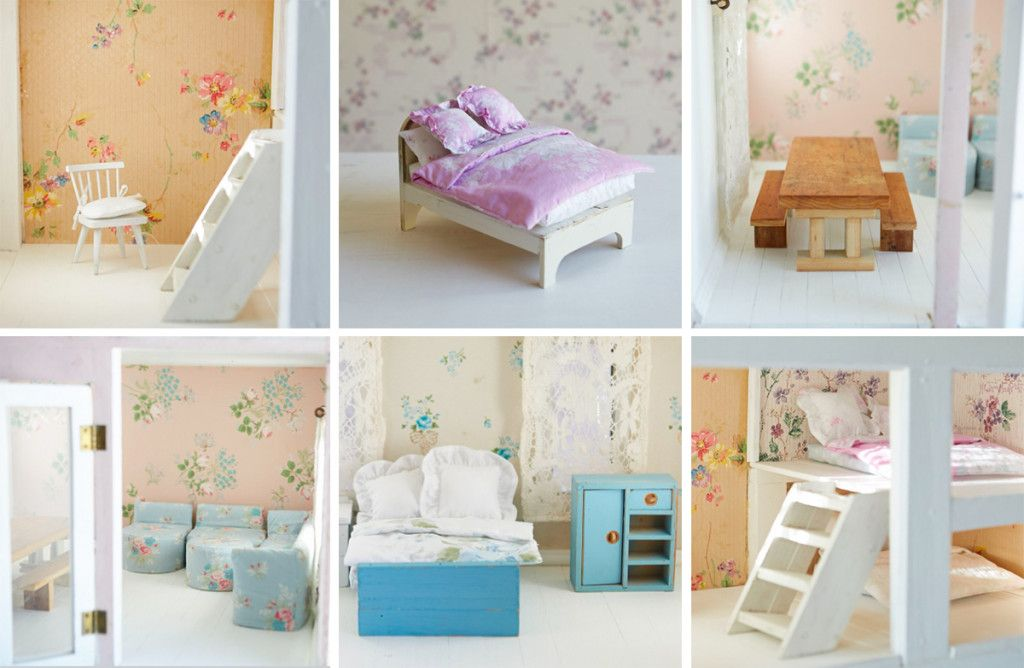 Dollhouse Collage