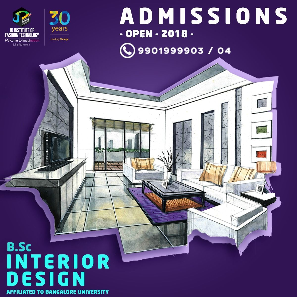 Master The Palette Techniques Materials And Designs Learn Interior Design At Jd Institute O Learn Interior Design Interior Design Courses Technology Fashion