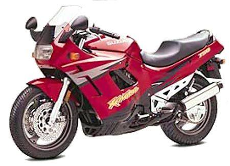 1997 Gsx750f Red Suzuki Cafe Racer Motorbikes Suzuki