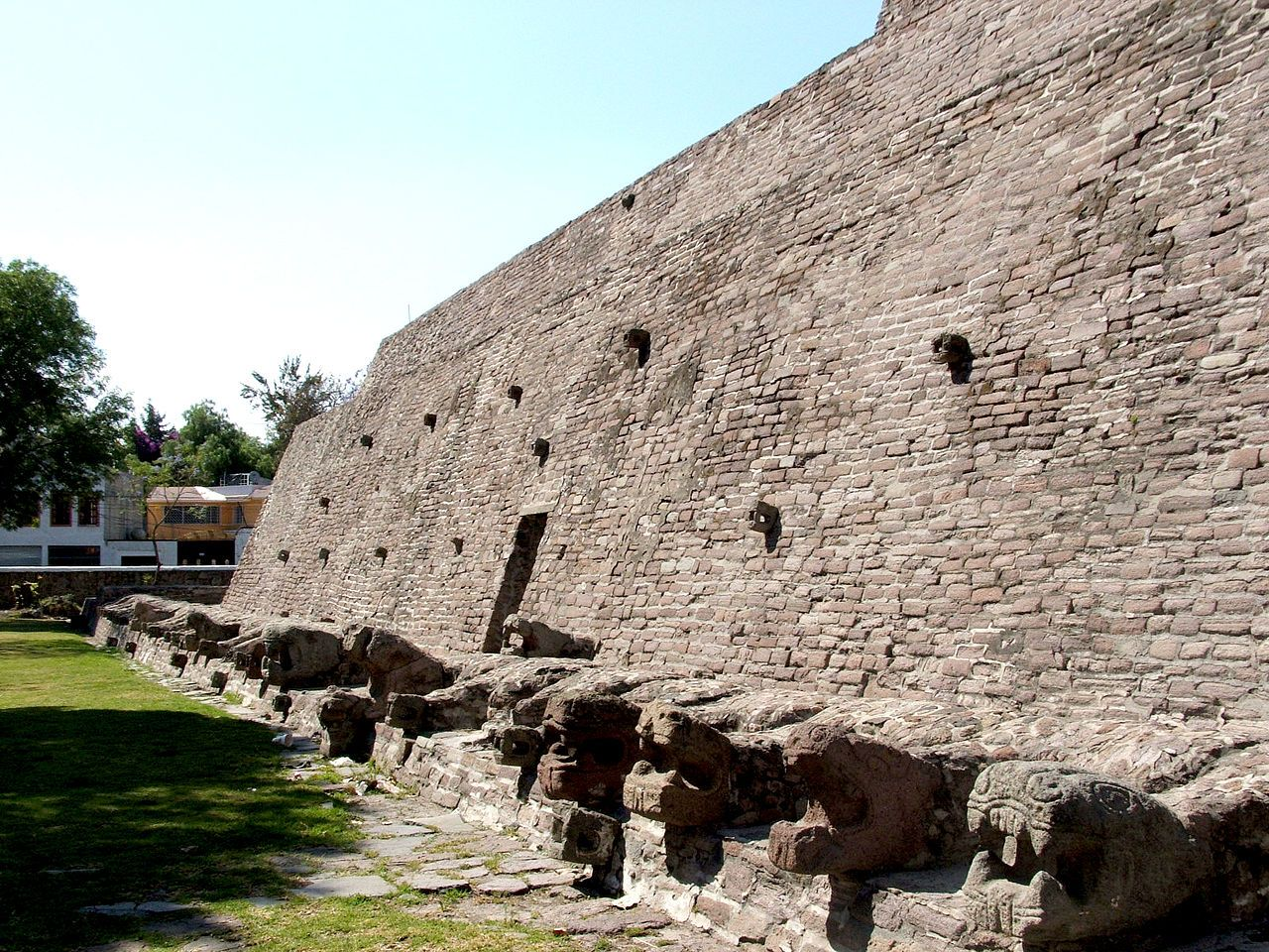 Ancient ruins  https://www.google.nl/search?q=Tenayuca