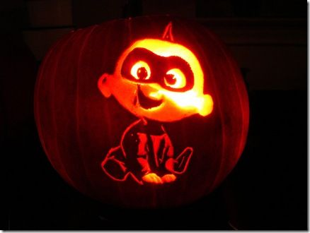 incredible pumpkin carvings featuring the incredibles halloween rh pinterest com jack's pumpkin carving studio jack skellington pumpkin carving