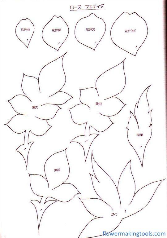 половинку цветы из фоамирана картинки с шаблонами решили проблему