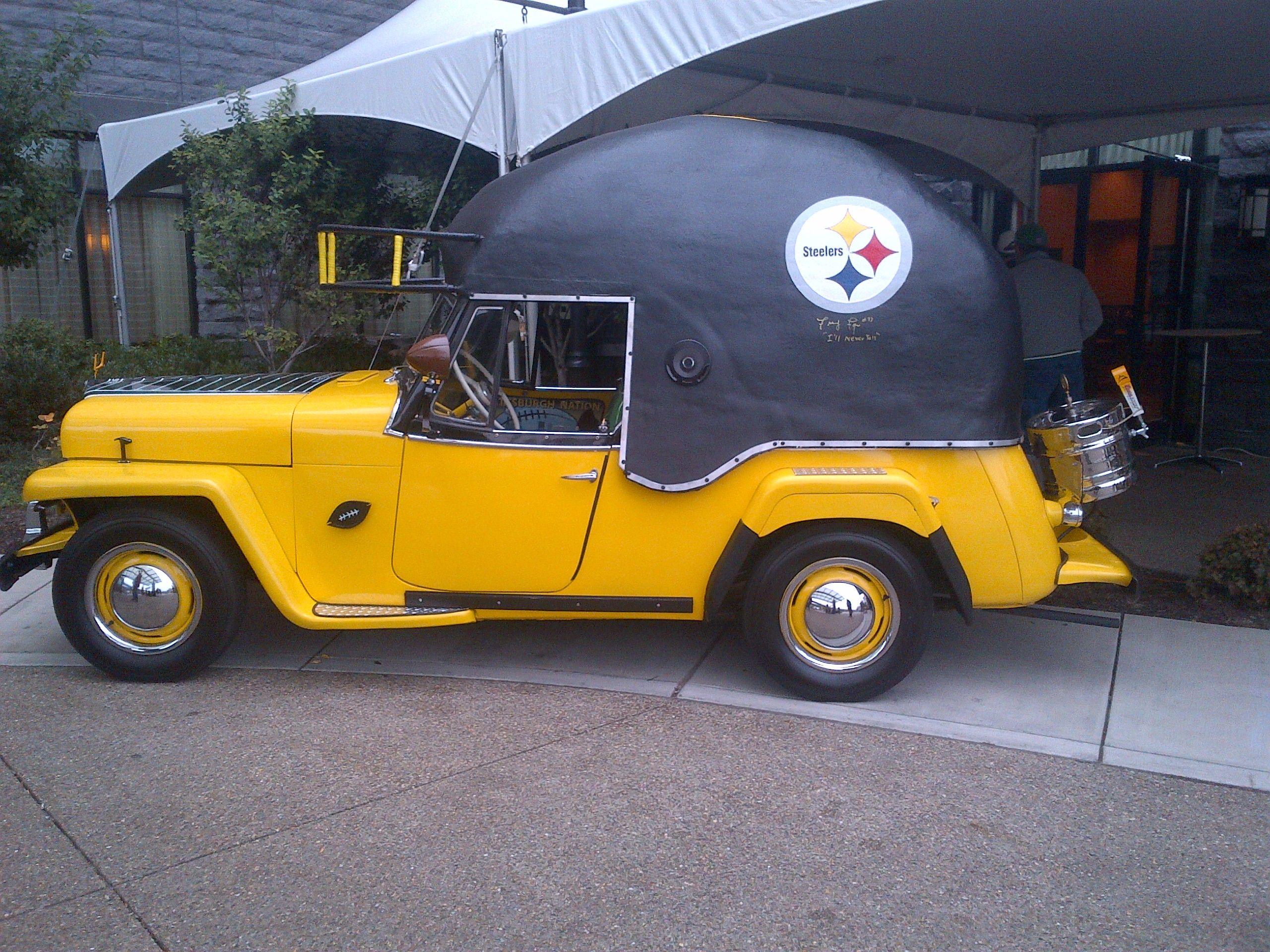 Pittsburgh Steelers NFL 8 Inch Car Magnet �C Fan Shop HQ ...