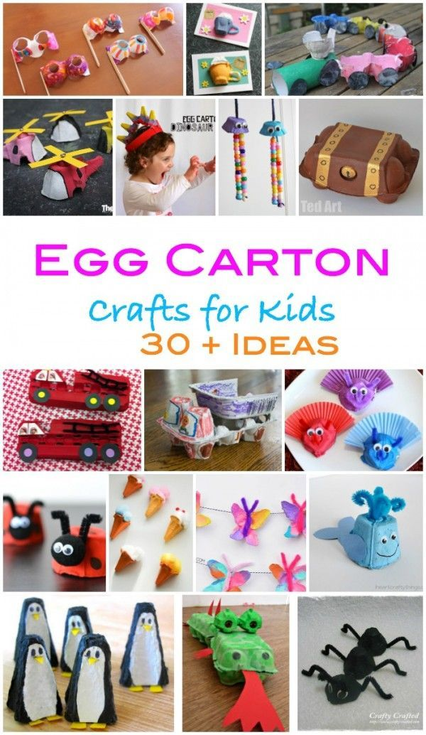 Recycled Egg Carton Craft For Children Egg Carton Crafts Craft Projects For Kids Arts And Crafts For Teens