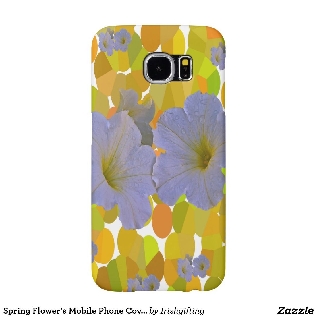 Spring Flower's Mobile Phone Covers Samsung Galaxy S6 Cases