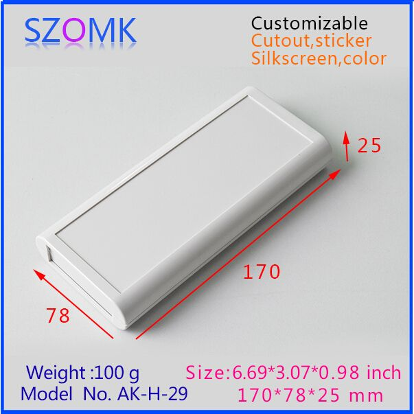 Szomk Project Case Electronics Enclosure 1 Pcs 170 78 25mm Distribution Box Plastic Electrical Box Wh Plastic Electrical Boxes Light Accessories Plastic Case