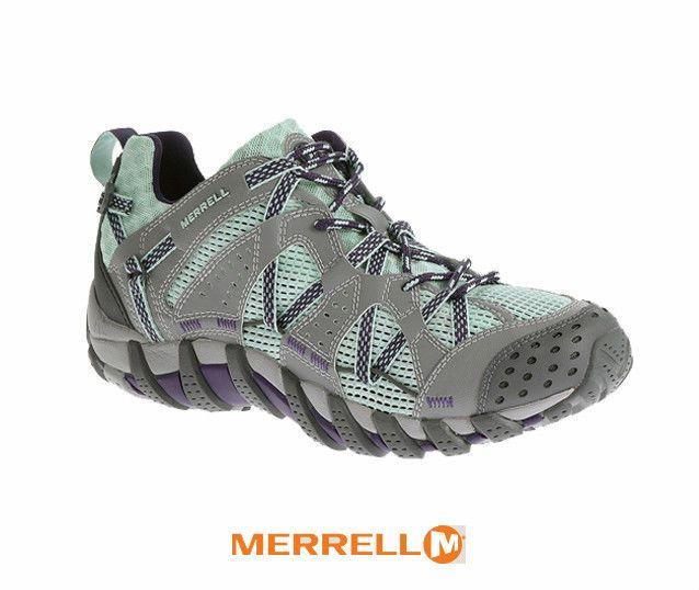 Merrell Waterpro Maipo Vibram Womens Outdoors Water Adventure Shoes Adventure Shoes Shoes Blue Shoes