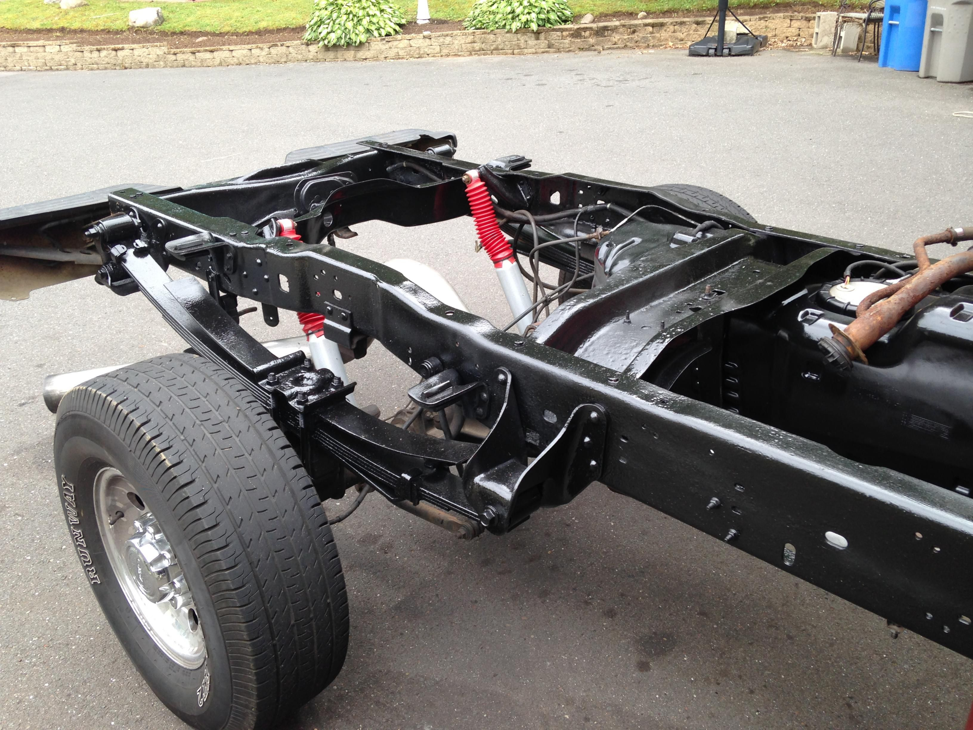 2003 F350 7 3l Frame Body Restoration Diesel Forum Frame Restoration Summer Projects