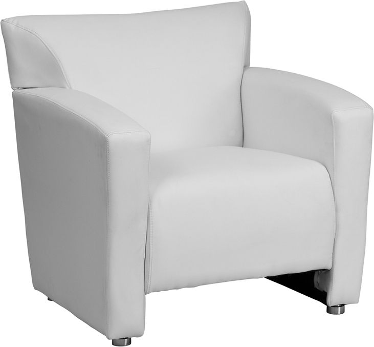 hercules majesty series white leather chair chair pinterest