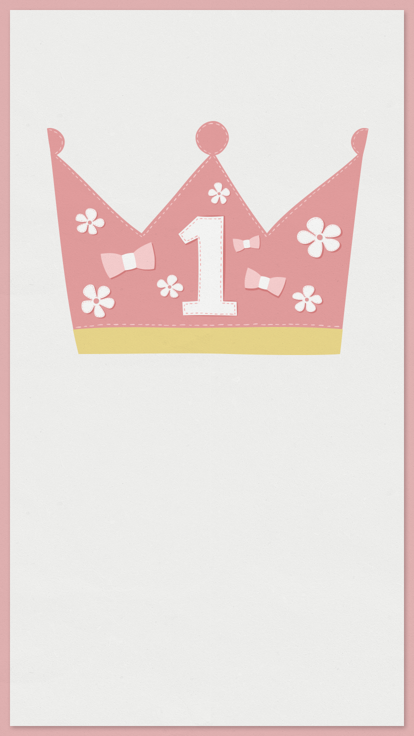 Celebrate the big 1! Plan your baby\'s first birthday with this free ...
