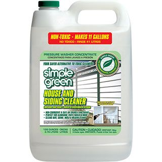 Simple Green House And Siding Cleaner Pressure Washer Concentrate A Powerful House Siding And Roof Cleaner Green Siding House Siding Green House Siding