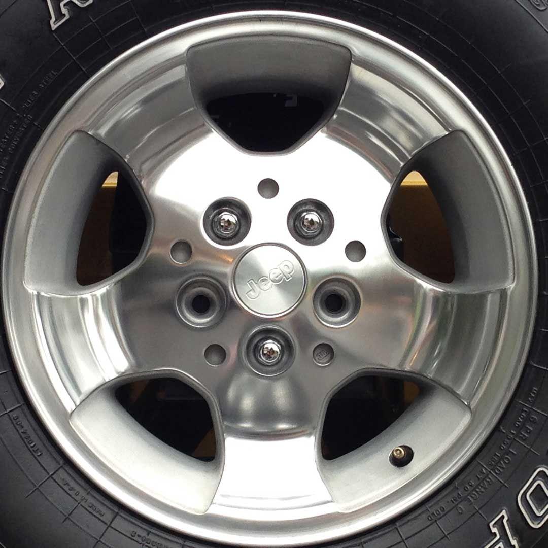 Restored full aluminum wheel thumbnail diy pinterest aluminum vehicle solutioingenieria Image collections