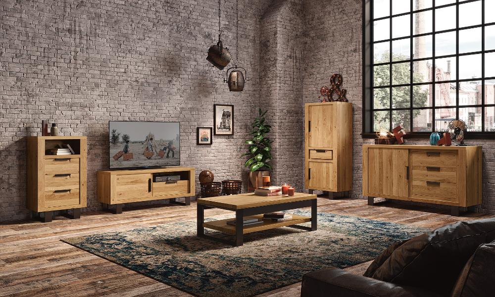 meubles sejour moderne style industriel