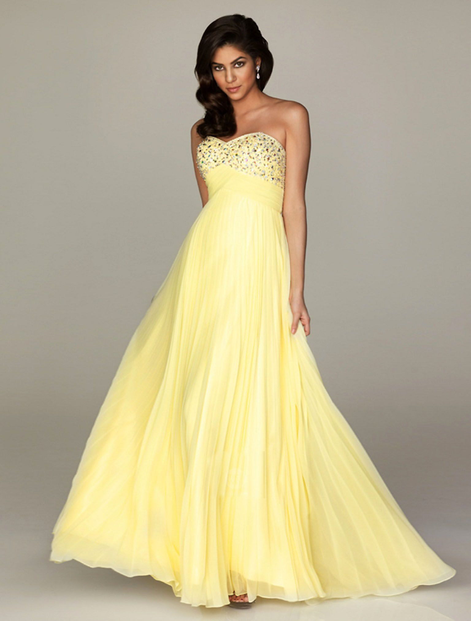 Start out searching for your perfect long maxi strapless light