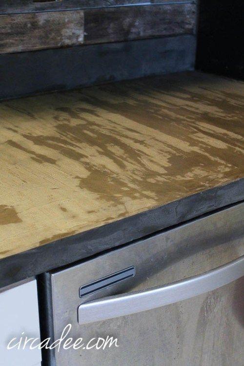 We Took The Plunge Diy Countertops Laminate Countertops