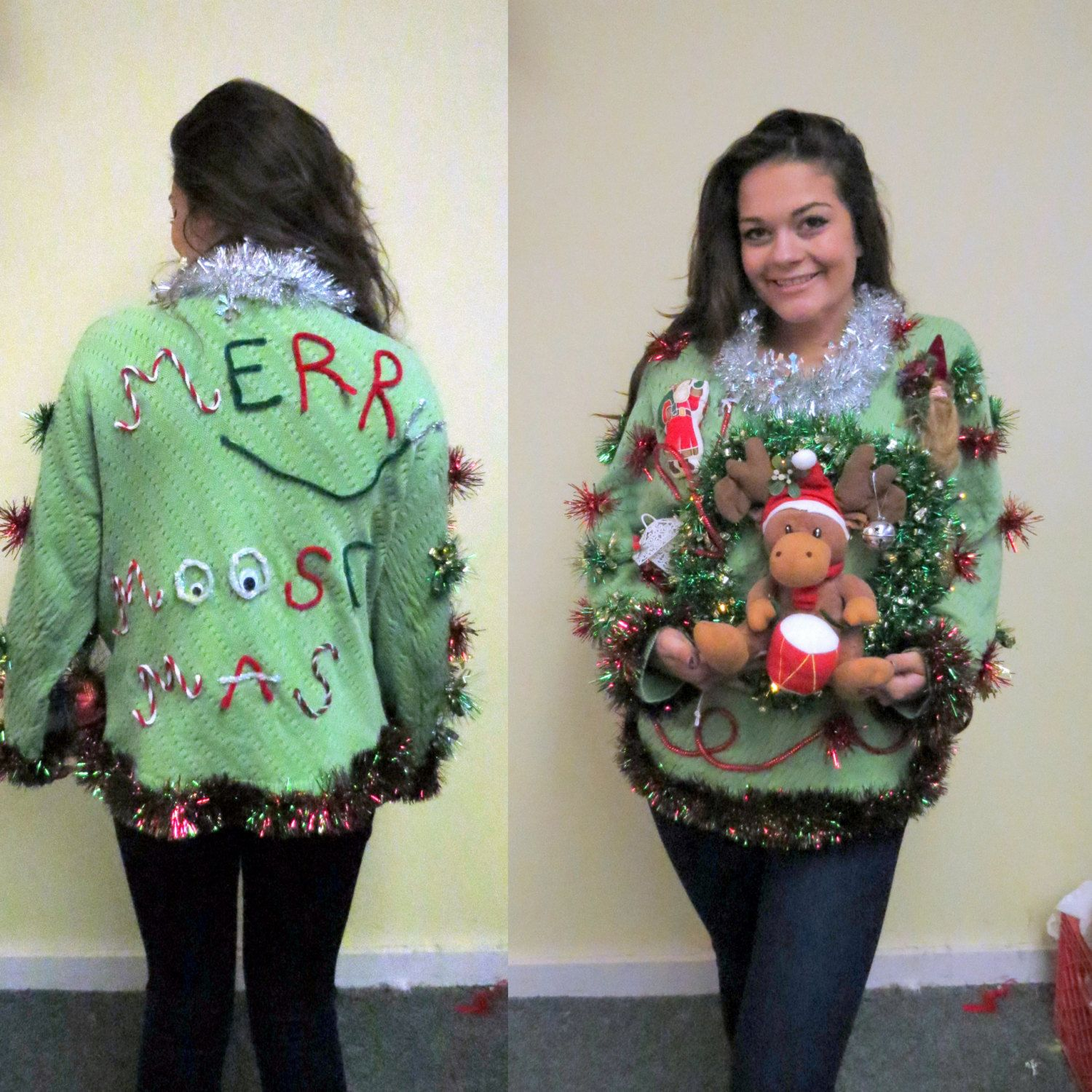 Pin on UGLY CHRISTMAS SWEATER DRESSES