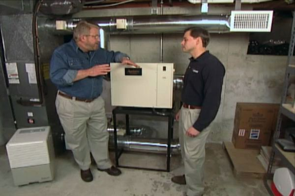 How To Install A Dehumidifier For The Whole House Using Your