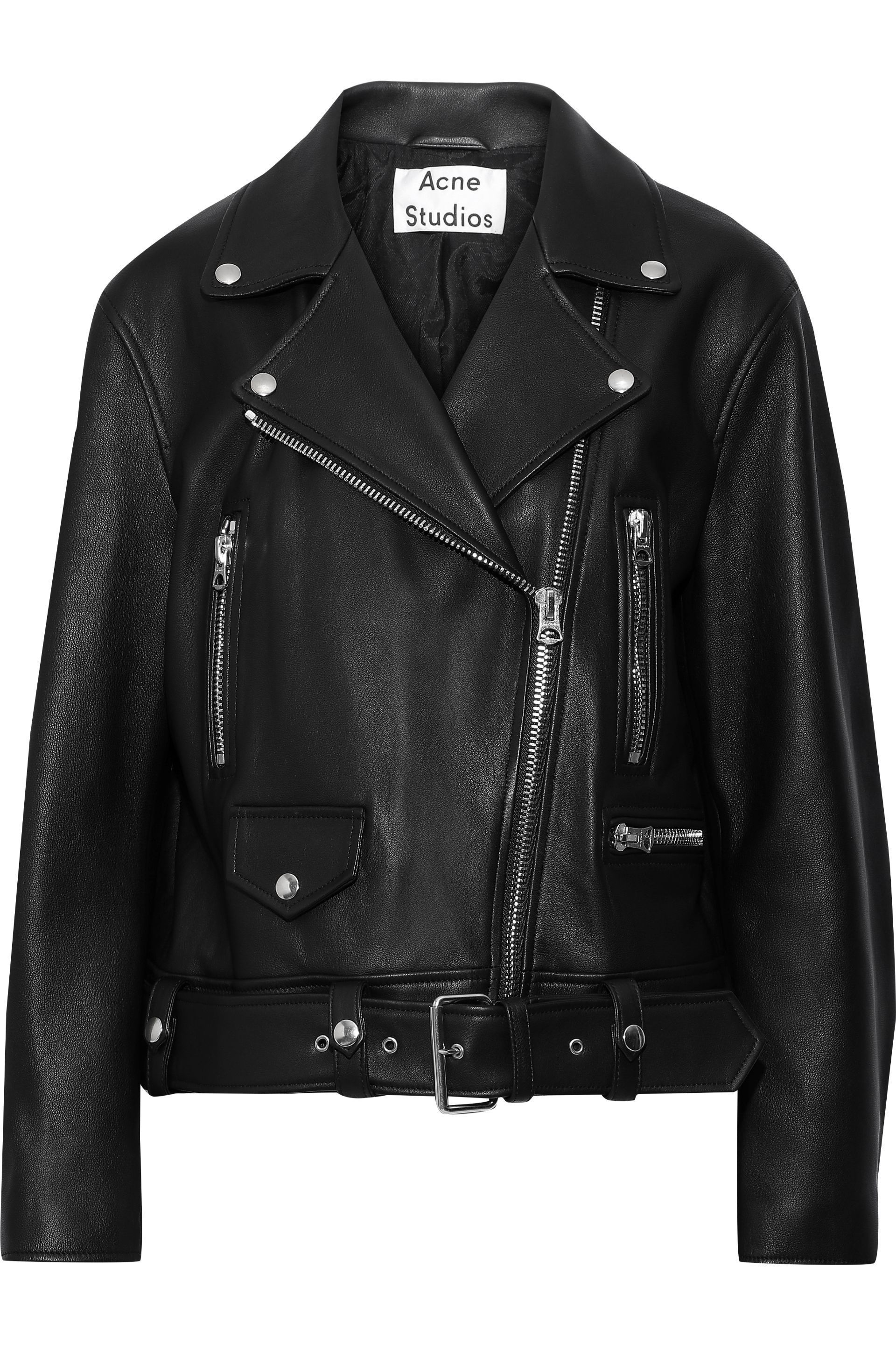 Merlyn leather biker jacket | ACNE STUDIOS | Sale up to 70% off | THE OUTNET ...re. You can use further finishes as well to get the desired effects. One of the best attire in a fashion conscious man's wardrobe is the leath... wrist line. It is ending or exceeding the wrist line then you have taken up the wring choice.Trials are very essential. It helps you in checking out #blog.burkfashions.com #leather-jackets-biker #fashion