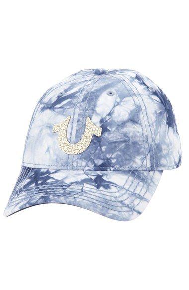 e6d79d33 Men's True Religion Brand Jeans Marble Dye Baseball Cap - Blue ...