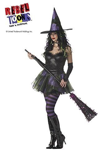POPLife Wicked Witch of the West Rebel Toons Costume -- Find out - lowes halloween