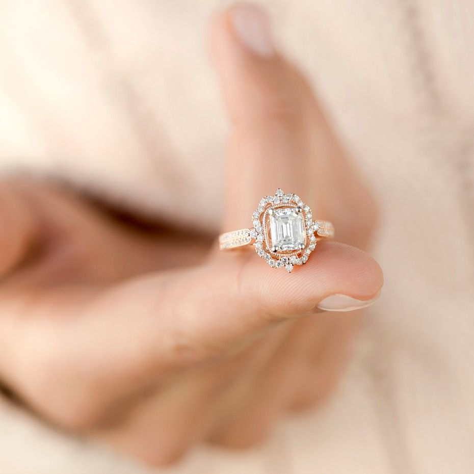 Romantic Vintage Inspired Engagement Rings From Shane Co Rose