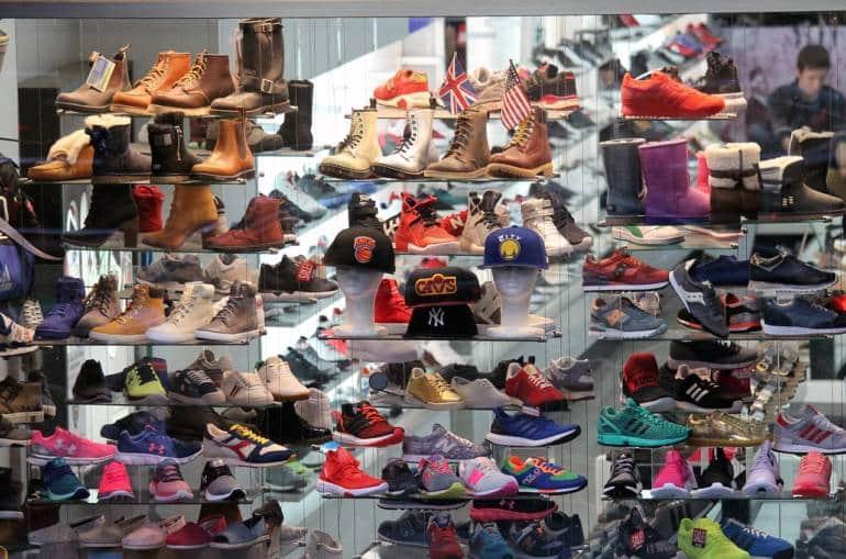 Shoe display, Best shoe stores, Shoe store