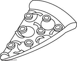 Resultado De Imagen Para Dibujos De Pizza Para Imprimir