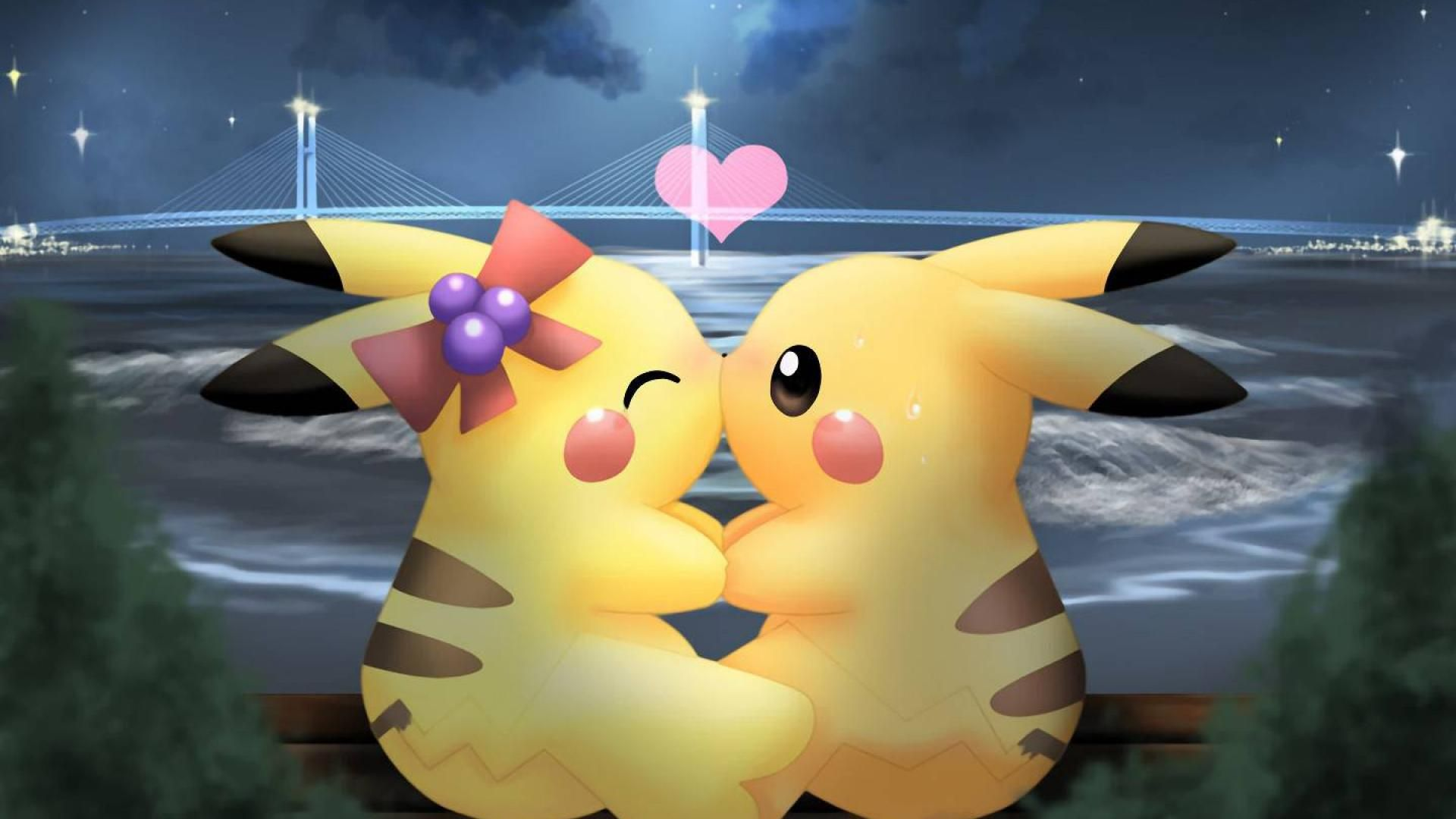 Love pikachu wallpaper (13983) High Quality and