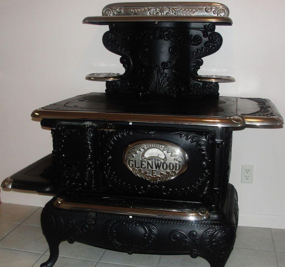 Glenwood Kitchen: Antique Cookstove 1903 Glenwood Fancy E (very Rare) EBay
