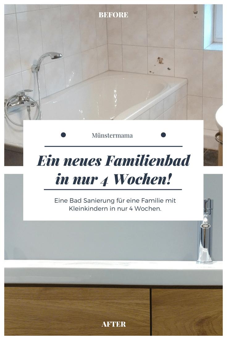 Unser Neues Familienbad Vor Der Bad Sanierung Teil 1 Familienbad Badezimmer Renovieren Sanierung