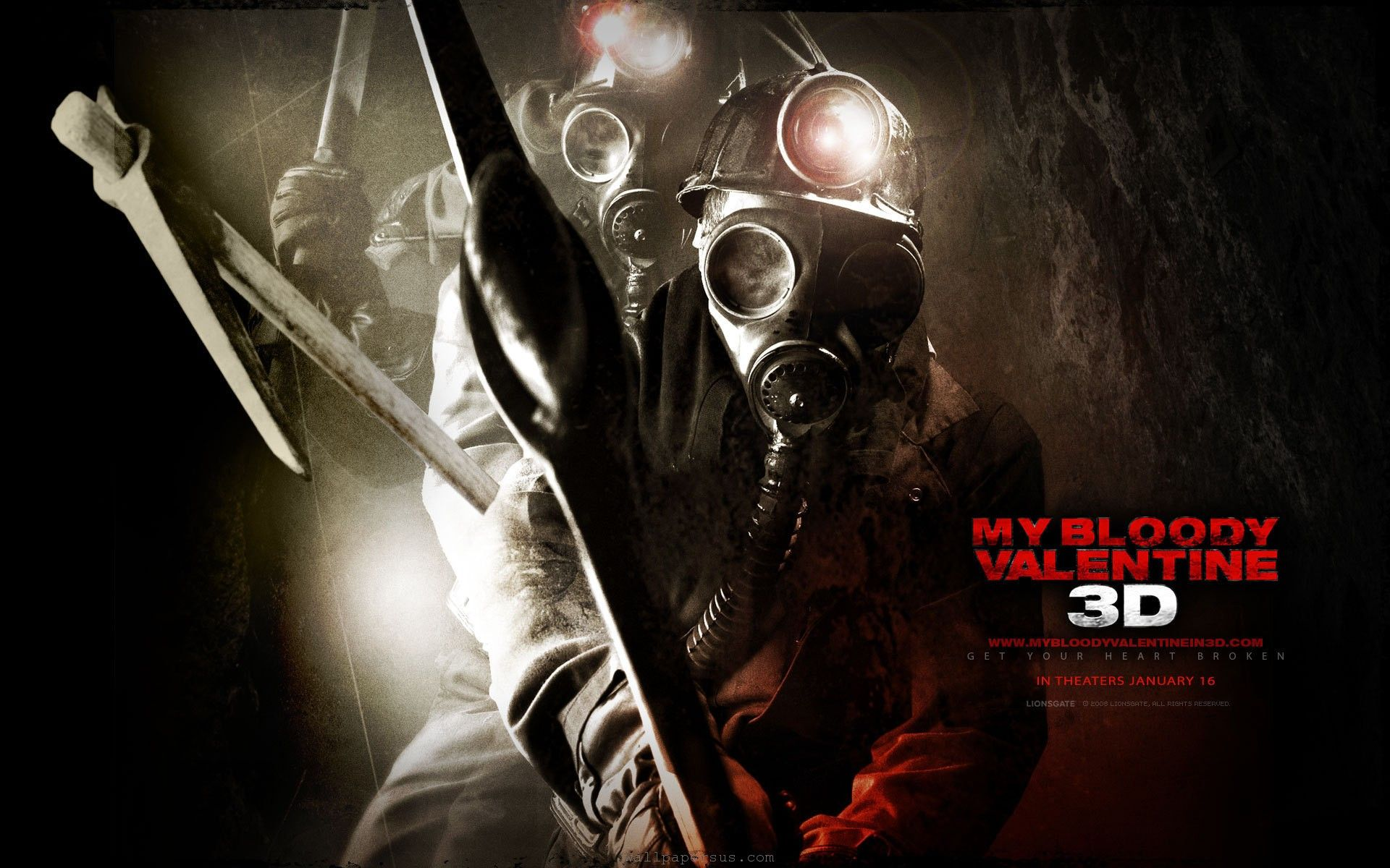 The Valentine Horror Movie Horror Movies Movie Wallpapers Horror Posters