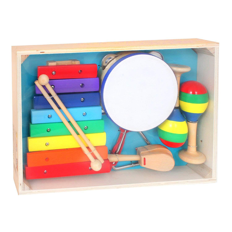 Grand 603020 De Instrumentos Set Infantil Musicales Mgm OTuiPZwkX