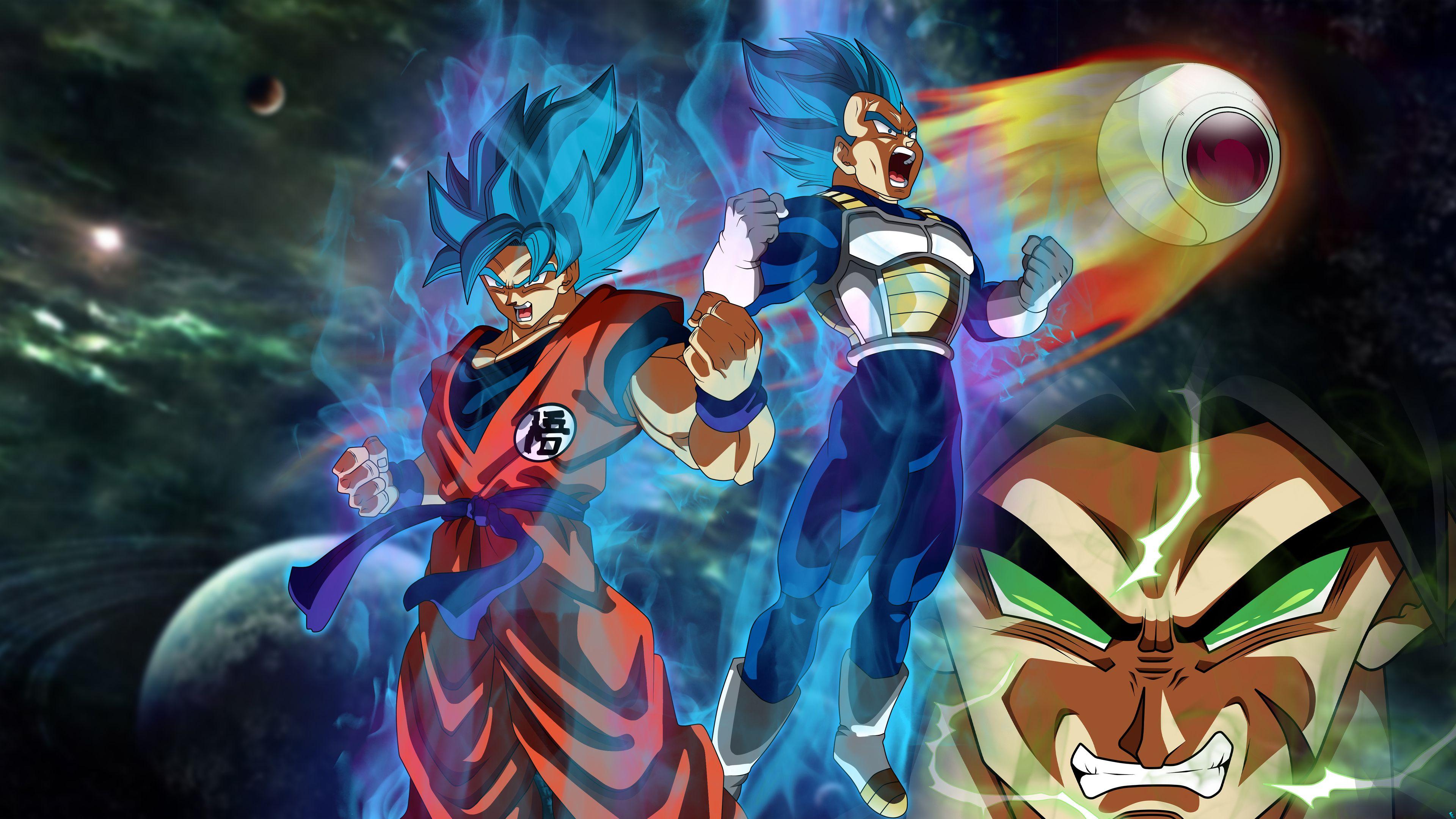 Goku Vegeta Dragon Ball Super 4k Hd Wallpapers Goku